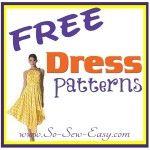 FREE Dress patterns listing