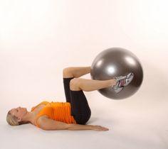 Prensa de piernas con fitball