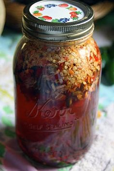 Cayenne Tincture- and how to make other medicinal tinctures.