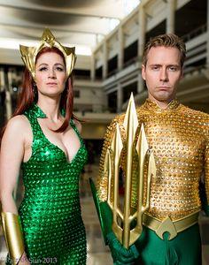 #Cosplay #Atlantean: #Aquaman & #Mera -  MegaCon 2013