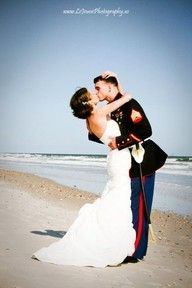 Military beach wedding , in Puerto Rico of course  ;-)