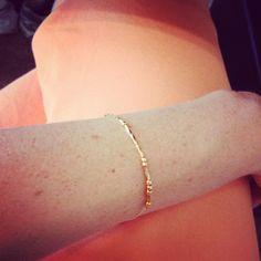 Freckles in April: DIY Morse Code Necklace