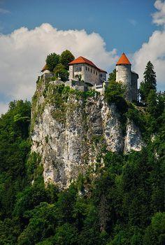 Cliff Castle, Bled, Slovenia