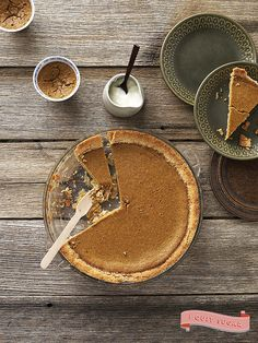 Pumpkin Pie with Cream by CrownPublishing, via Flickr
