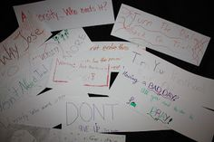 Adversity Lesson:  Mutual (this would be fun)  lesson based on D 121-122 seminary students create their own slogans for fighting adversity. Pictured above are just a few that they designed in the early morning hours. I thought I would share this idea with you. Who knows...maybe you could use this idea for a lesson or a youth activity.