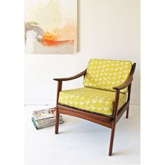 i have a chair almost exactly like this that i inherited from my grandmother...needs to be redone though - but I love it