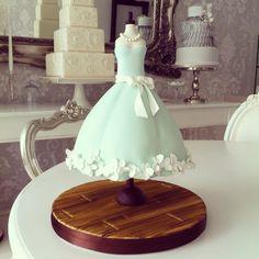 Zoe Clark dress cake