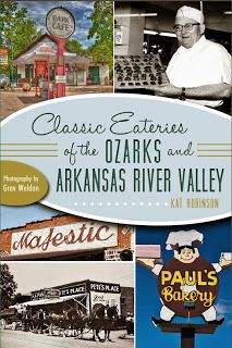 Last chance to get your signed copy of Classic Eateries of the Ozarks and Arkansas River Valley by Christmas. Place orders by noon on Wednesday for deliveries within the continental United States. http://www.classiceateries.com/p/order-book.html
