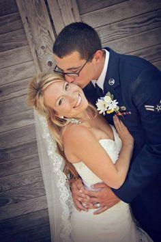 Airforce wedding