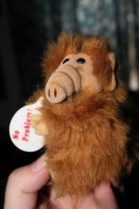 alf. My sister used to have a huge alf stuffed toy
