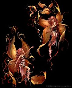 Twin sistet fairies