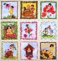 fairy fabric panel