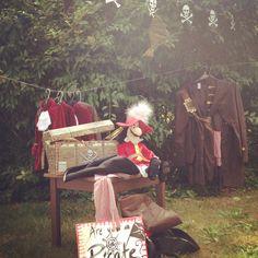 Peter Pan Party - Dress up pirate cove corner