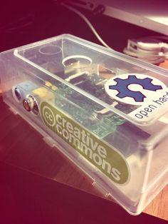 Raspberry pi plastic case