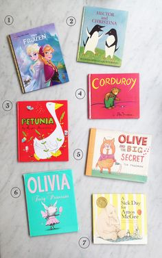 Ivy's favourite books (great for ages 4 to 6)