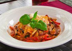 Dinner Recipe: Vegetable Lasagna