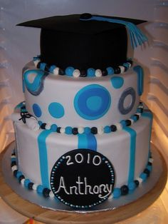 Graduation Party Suggestions   Graduation Party Cake and Cupcake Decorating Ideas