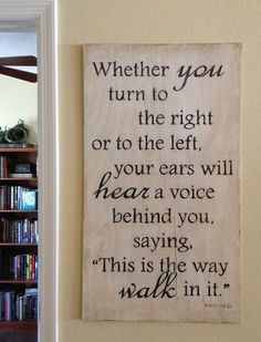 Painted Scripture Verse Board by MadeByKristaLoves on Etsy, $69.99 by @Krista Borntreger King