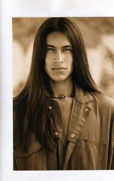 native american men -