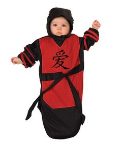 Look what I found on #zulily! Red & Black Ninja Dress-Up Set - Infant #zulilyfinds