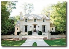 French Styled Home
