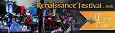 2014 Bay Area Renaissance Festival at MOSI!