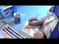 Simple Watercolor Blending Life In Color | The colorful world of Robin Mead…Mixed Media Art, Handmade Journals and Crafts