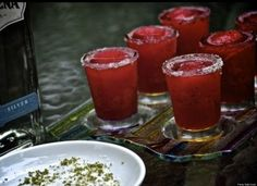 Frozen hibiscus margaritas http://huff.to/L1y1pZ