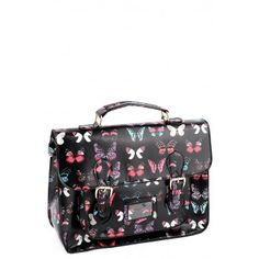 Butterfly Oil Cloth Bag £12.00