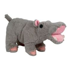 "Plush 8"" Hippo at theBIGzoo.com, a family-owned store. Check our sales & FREE Shipping."