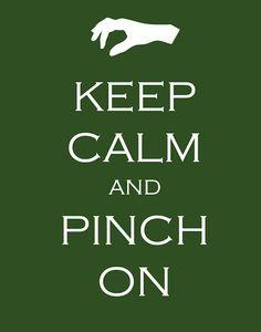 pinch on!