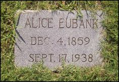 Pathway To Remembrance: Tombstone Tuesday - Missouri Alice Steele #genealogy #familyhistory