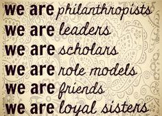 We are sorority women. delta gamma, alpha chi omega, alpha gamma delta, alpha phi, college life, delta zeta, kappa delta, quot, sigma alpha