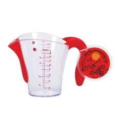 "Baking made fun with your kids or students.  6.25"" Rooster Measuring Cup"