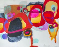 """Saatchi+Online+Artist+Claire+Desjardins;+Painting,+""""In+the+Embers""""+#art"""