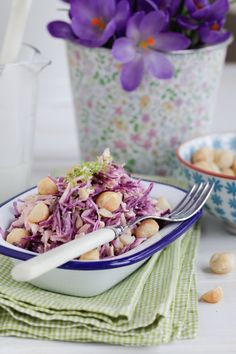 Coconut Lime Coleslaw with Macadamia Nuts (raw, vegan)