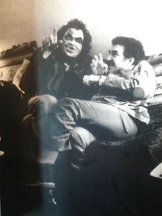 Julio Cortázar y Gabriel García Márquez. Foto: Sara Facio