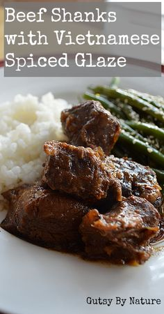 Paleo Beef Shanks with Vietnamese Spiced Glaze (Gluten Free, Soy Free) - Gutsy By Nature