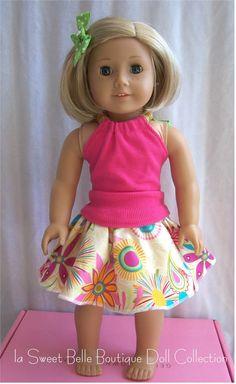 adorable tank top and skirt