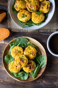 4. Sweet Potato Bacon Egg Muffins