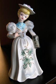 Lovely lady figurine