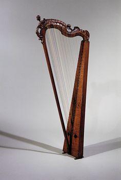 18th century German harp