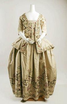 Petticoat and caraco, 1780, Metropolitan Museum of Art