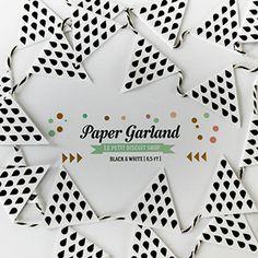 pretty paper garland