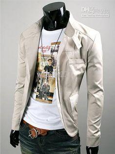 Wholesale Slim Korean Casual Suits Men's Suit Dress Fashion Men Suit Single-breasted Jacket Outerwear