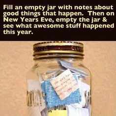 I need to start doing this.