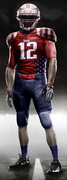 patriots would look like captain america