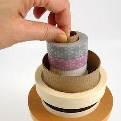 DIY Tape Storage