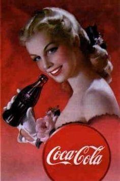 ***** cocacola, vintag ad