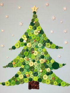 Buttons #christmasdiy #holidaycrafts